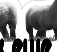 flock ewe two Sticker