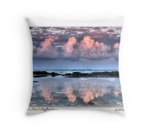 Dolphin Point Reflections Card Throw Pillow