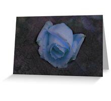 Crackled Rose Greeting Card