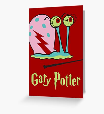 Gary Potter Greeting Card