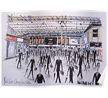 Charing Cross Railway Station, London England Poster
