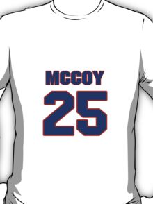National football player LeSean McCoy jersey 25 T-Shirt