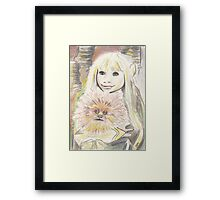 Kira and Fizzgig - The Dark Crystal Framed Print