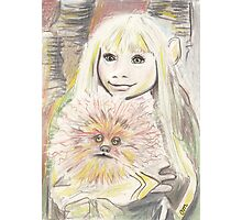 Kira and Fizzgig - The Dark Crystal Photographic Print