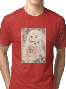 Kira and Fizzgig - The Dark Crystal Tri-blend T-Shirt
