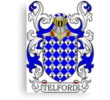 Telford Coat of Arms Canvas Print