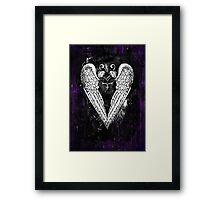 Punk Heart Framed Print