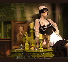 michelle chambermaid by fuxart