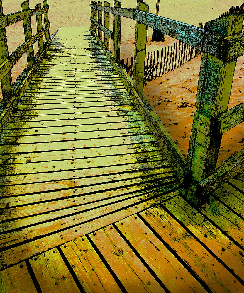 Boardwalk by Bev Evans