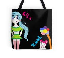 Lila and Zuul Tote Bag