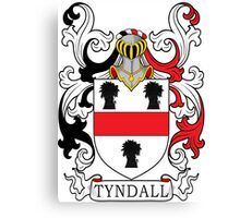 Tyndall Coat of Arms Canvas Print