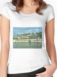 Cork Harbour Women's Fitted Scoop T-Shirt