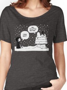 Charlie Snow/Jon Brown and his dog/Direwolf Women's Relaxed Fit T-Shirt