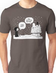 Charlie Snow/Jon Brown and his dog/Direwolf Unisex T-Shirt