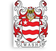 Wash Coat of Arms Canvas Print