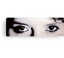 The Eyes of A Canvas Print