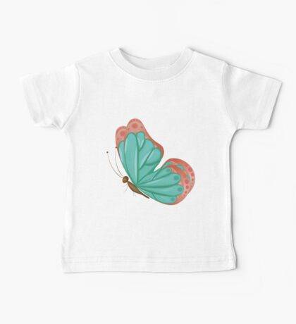 Abstract colorful butterfly 9 Baby Tee
