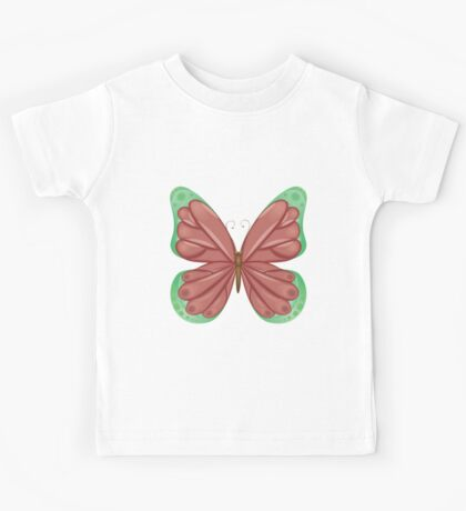 Abstract colorful butterfly 11 Kids Tee