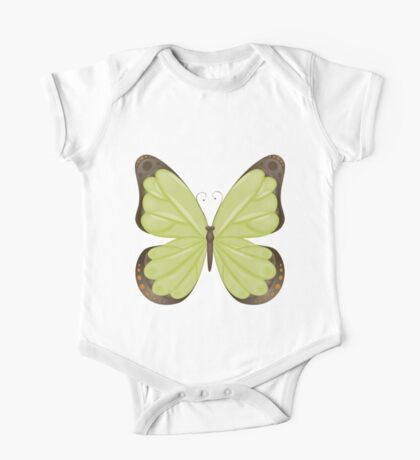 Abstract colorful butterfly 13 One Piece - Short Sleeve