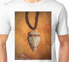 Tribal Flintknapped Flint Stone Arrowhead Pendant Necklace Unisex T-Shirt