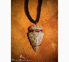 Tribal Flintknapped Flint Stone Arrowhead Pendant Necklace Unisex T-Shirt