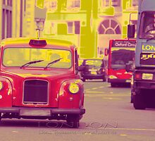 london taxi by fuxart