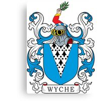 Wyche Coat of Arms Canvas Print