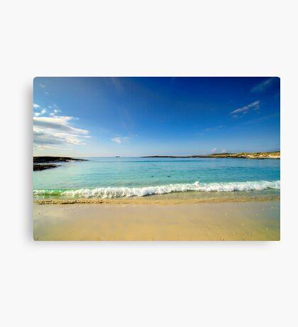 Sanna Bay Ardnamurchan Peninsula Canvas Print