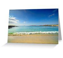 Sanna Bay Ardnamurchan Peninsula Greeting Card