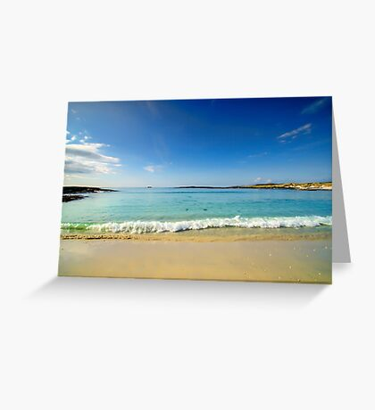 Sanna Bay Ardnamurchan Peninsula Greeting Card