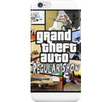 Regular Show GTA iPhone Case/Skin