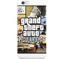 Regular Show GTA iPhone Case/Skin