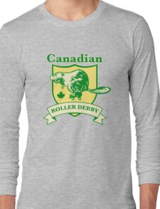 Canadian Roller Derby Long Sleeve T-Shirt