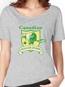 Canadian Roller Derby Women's Relaxed Fit T-Shirt