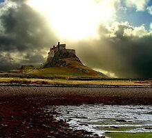 Lindisfarne Castle by Kenart