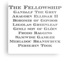 The Fellowship Metal Print