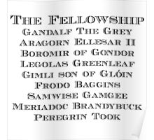 The Fellowship Poster