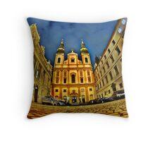 night in Vienna   Throw Pillow