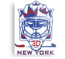 New York Hockey T-Shirt II Metal Print