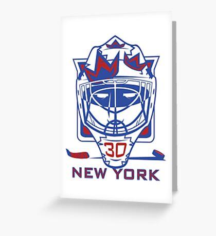 New York Hockey T-Shirt II Greeting Card