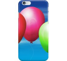 Balloons in the sky iPhone Case/Skin