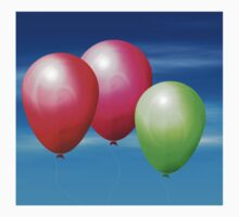 Balloons in the sky Kids Clothes