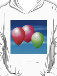 Balloons in the sky T-Shirt