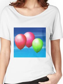 Balloons in the sky Women's Relaxed Fit T-Shirt