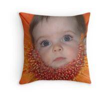 FLOWERBEARD Throw Pillow