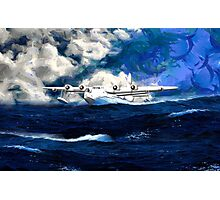 Short Sunderland Flying Boat - all products bar duvet Photographic Print