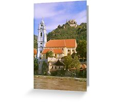 On the Danube River Greeting Card