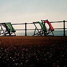 deckchairs in pairs by ragman