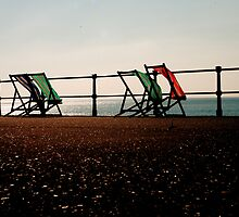deckchairs in pairs by ragman
