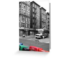 New York Appartments Greeting Card